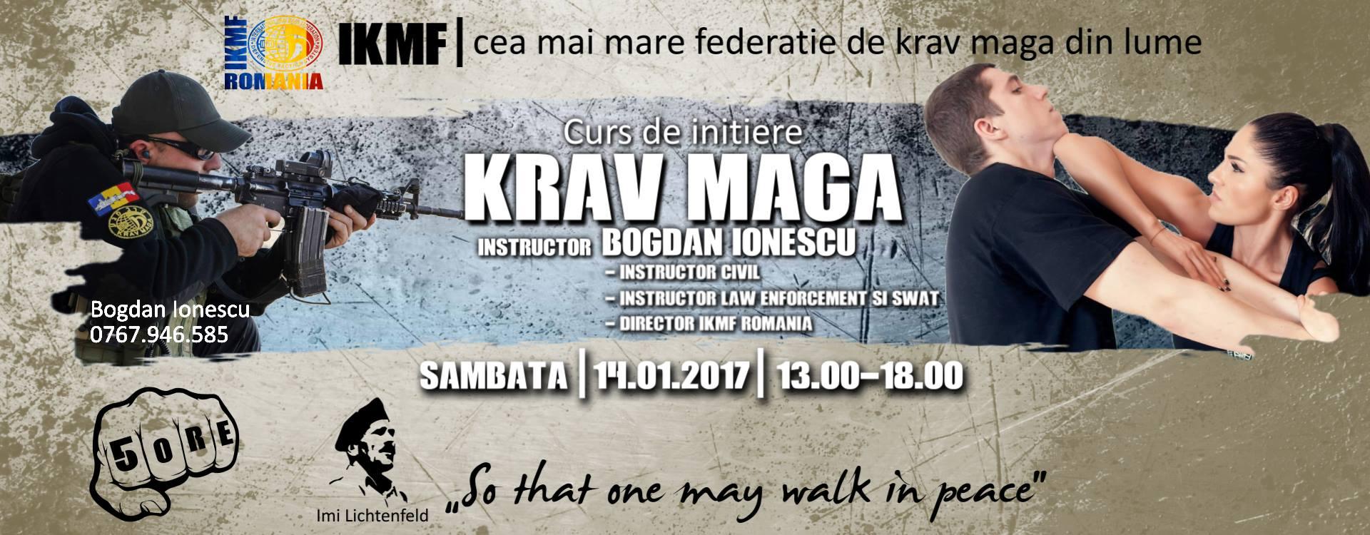 Curs de inițiere Krav Maga